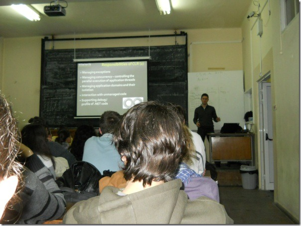 Nakov-teaching-the-ASP.NET-course-FMI-October-2010