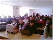 Наков преподава на ученици в Академията на Телерик по разработка на софтуер за ученици