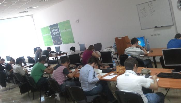 Софтуерна академия на Телерик - приемни изпити