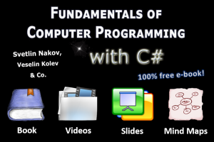Intro C# Book by Nakov - free programming book, videos and slides