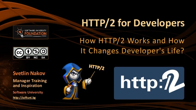 HTTP/2 for Developers