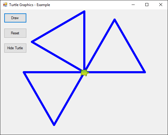 Turtle Graphics C# App