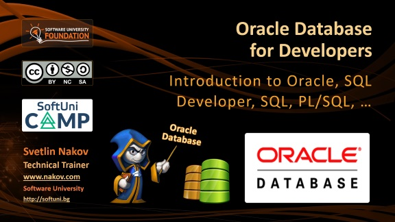 Oracle DB for Developers